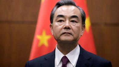 وانغ يي عضو مجلس الدولة ووزير الخارجية الصيني