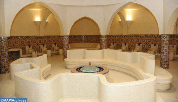 حمامات مسجد الحسن الثاني