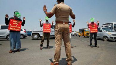 الهند تستخدم ملعبا شهيرا للكريكت للحجر على الشرطيين المصابين بكوفيد-19