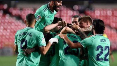 بطولة إسبانيا: ريال على بعد فوز من إزاحة برشلونة عن العرش