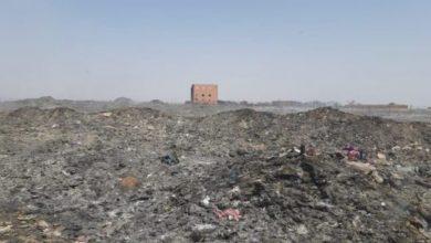 تنظيم عملية كبرى لطمر النفايات إثر نشوب حريق بالمطرح البلدي بقلعة السراغنة