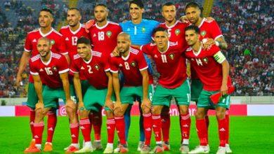 صورة المنتخب المغربي يحافظ على مركزه ال 43 في التصنيف العالمي للفيفا