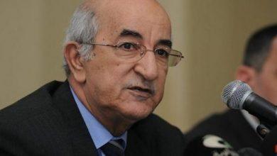 """الرئيس الجزائري في """"حجر صحي طوعي"""" لمدة خمسة أيام"""