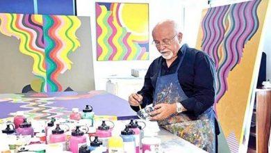 وفاة الفنان التشكيلي المغربي محمد المليحي بباريس متأثرا بمضاعفات فيروس كورونا