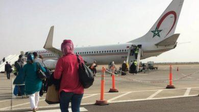 صورة انخفاض حركة النقل الجوي بمطار مراكش المنارة متم أكتوبر الماضي بأزيد من 70 في المائة