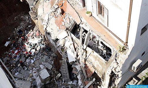الدار البيضاء.. وفاة شخص و إصابة أربعة آخرين بجروح متفاوتة الخطورة على إثر انھیار سقف فران تقلیدي