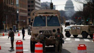 توقيف مسلح مدجج بالذخيرة في محيط مبنى الكونغرس في واشنطن