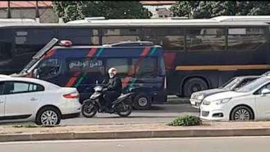 شاهد أصحاب الحافلات يستعدون لوقفة احتجاجية بمحطة أولا زيان