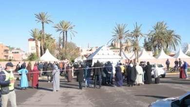 مراكش.. فوضى وازدحام أمام عدد من مراكز التلقيح ومندوبية الصحة توضح