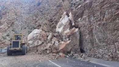 تساقطات مهمة من الأمطار تتسبب في إنجراف التربة وصخور كبيرة أدت إلى قطع الطريق بين بومالن دادس و أمسمرير