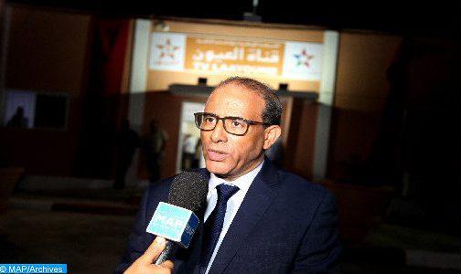 مدير قناة العيون الداه محمد الأغضف