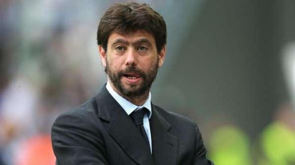 جوفنتوس الإيطالي لكرة القدم أندريا أنييلي