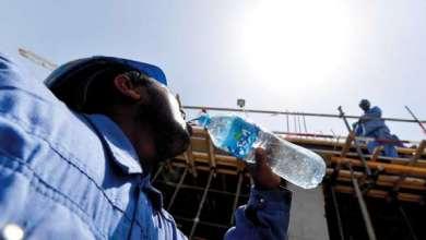 حماية العمالة من التعرض لحرارة الشمس اللافحة اثناء العمل