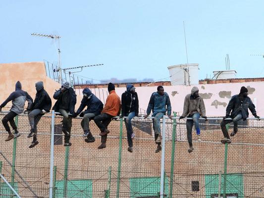 أكثر من 230 مهاجرا دخلوا جيب مليلية المحتل