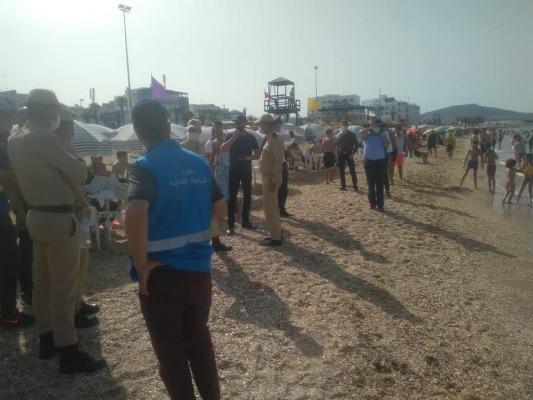 كوفيد 19 : حملات تحسيسية في الشواطئ والساحات العامة بالمضيق-الفنيدق