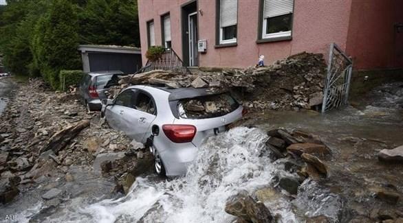 153 قتيلا في الفيضانات في أوروبا بينهم 133 في ألمانيا