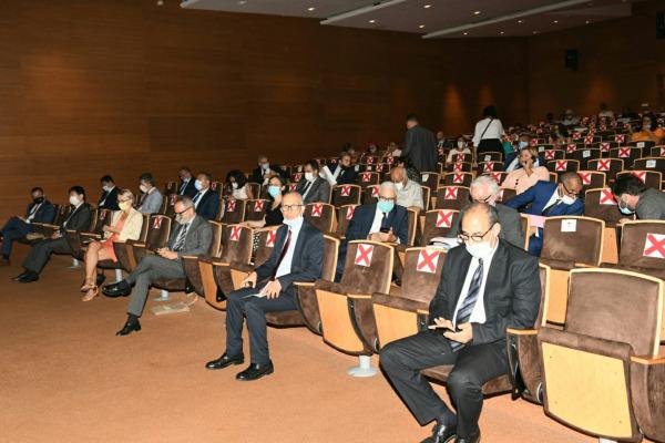ترأس السيد عثمان الفردوس، وزير الثقافة والشباب والرياضة يوم الاثنين 12يوليوز 2021 بمقر المكتبة الوطنية للمملكة المغربية بالرباط، مراسيم تقديم مشروع