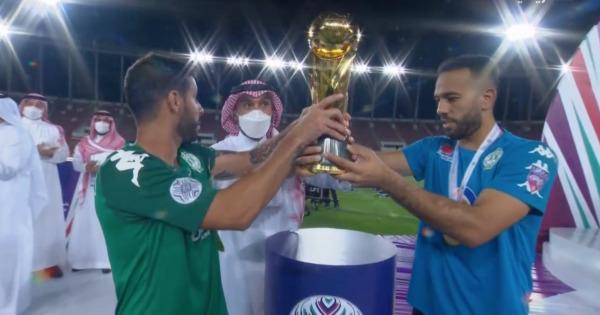 الرجاء الرياضي يحرز كأس محمد السادس للأندية العربية الأبطال