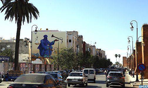 """الدورة السادسة لـ""""جدار- مهرجان فن الشارع الرباط"""""""