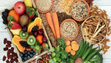 الأنظمة الغذائية الغنية بالألياف