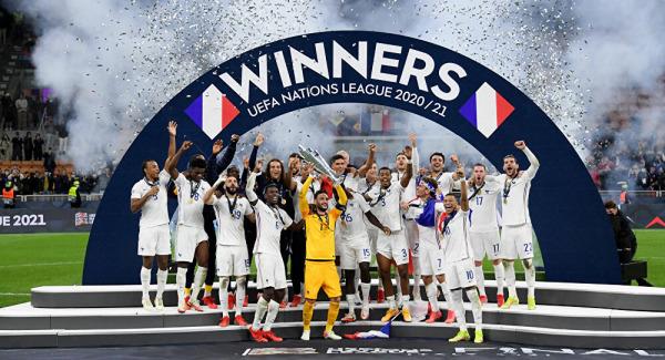 المنتخب الفرنسي يتوج بدوري الأمم الأوروبية على حساب إسبانيا