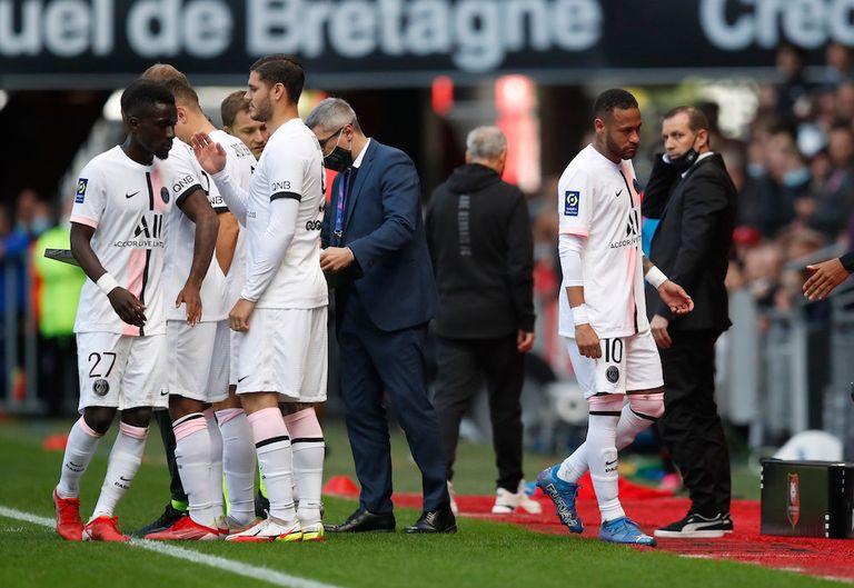 باريس سان جرمان ينهزم أمام فريق رين