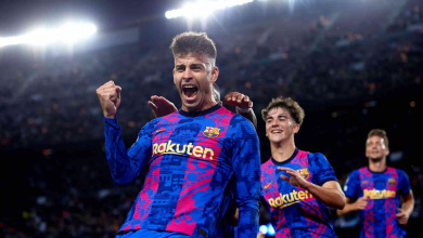 برشلونة الاسباني يفوز على ضيفه دينامو كييف