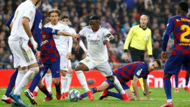 """بطولة إسبانيا: ريال مدريد يحسم الـ""""كلاسيكو"""" للمرة الرابعة تواليا بفوزه 2-1"""