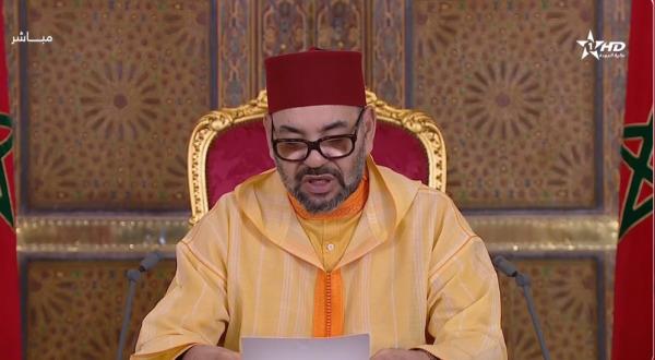 جلالة الملك يوجه خطابا ساميا